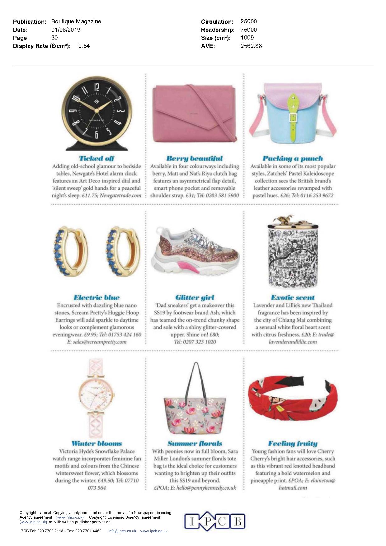 Boutique Magazine June 2019 - Lavender & Lillie