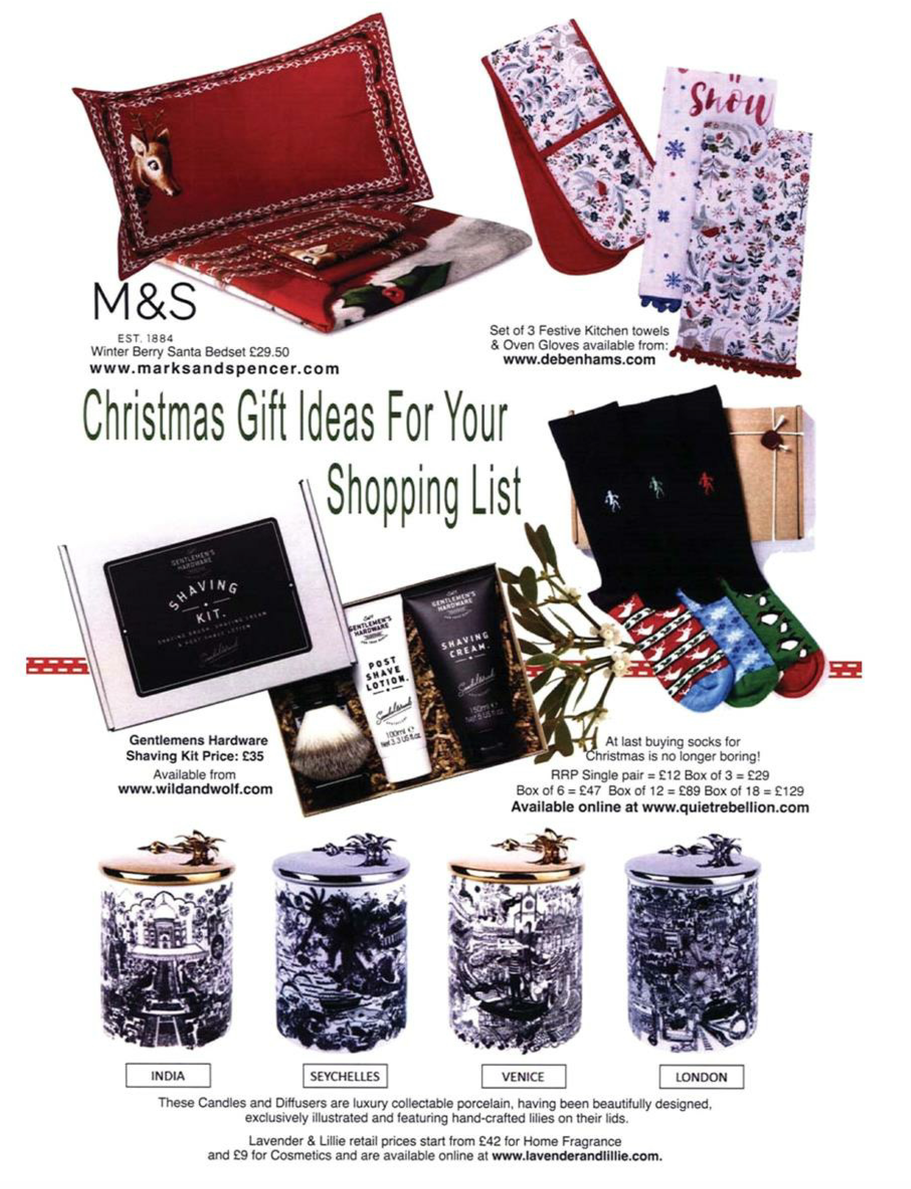 Countryside La Vie - Christmas Gift Ideas - Lavender & Lillie