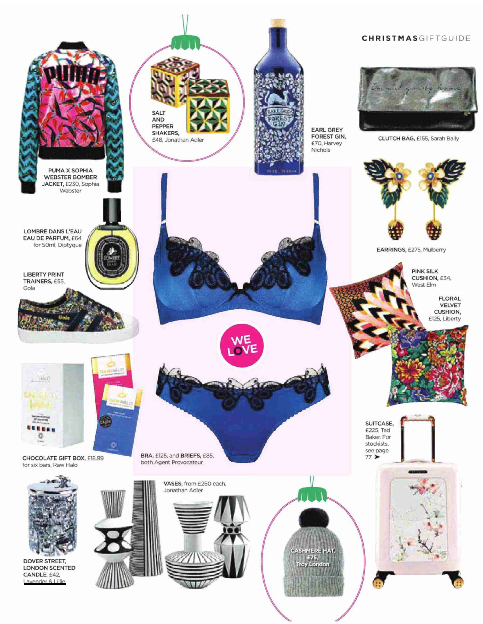 mail on sunday christmas gift guide
