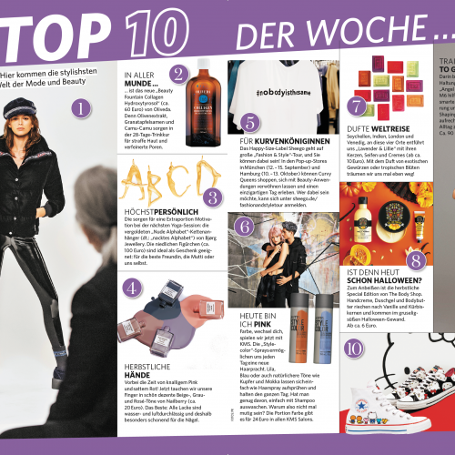 In Magazine - Top 10 of the Week